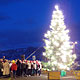 5 December 2009 – Reykjavík. The christmas tree is off, the christmas tree is on.