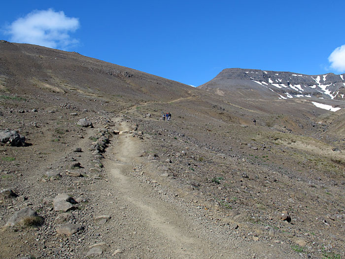 Reykjavík. Esja - the first time! - This was our goal, to top o the mountain. About 800 meters. (5 May 2012)