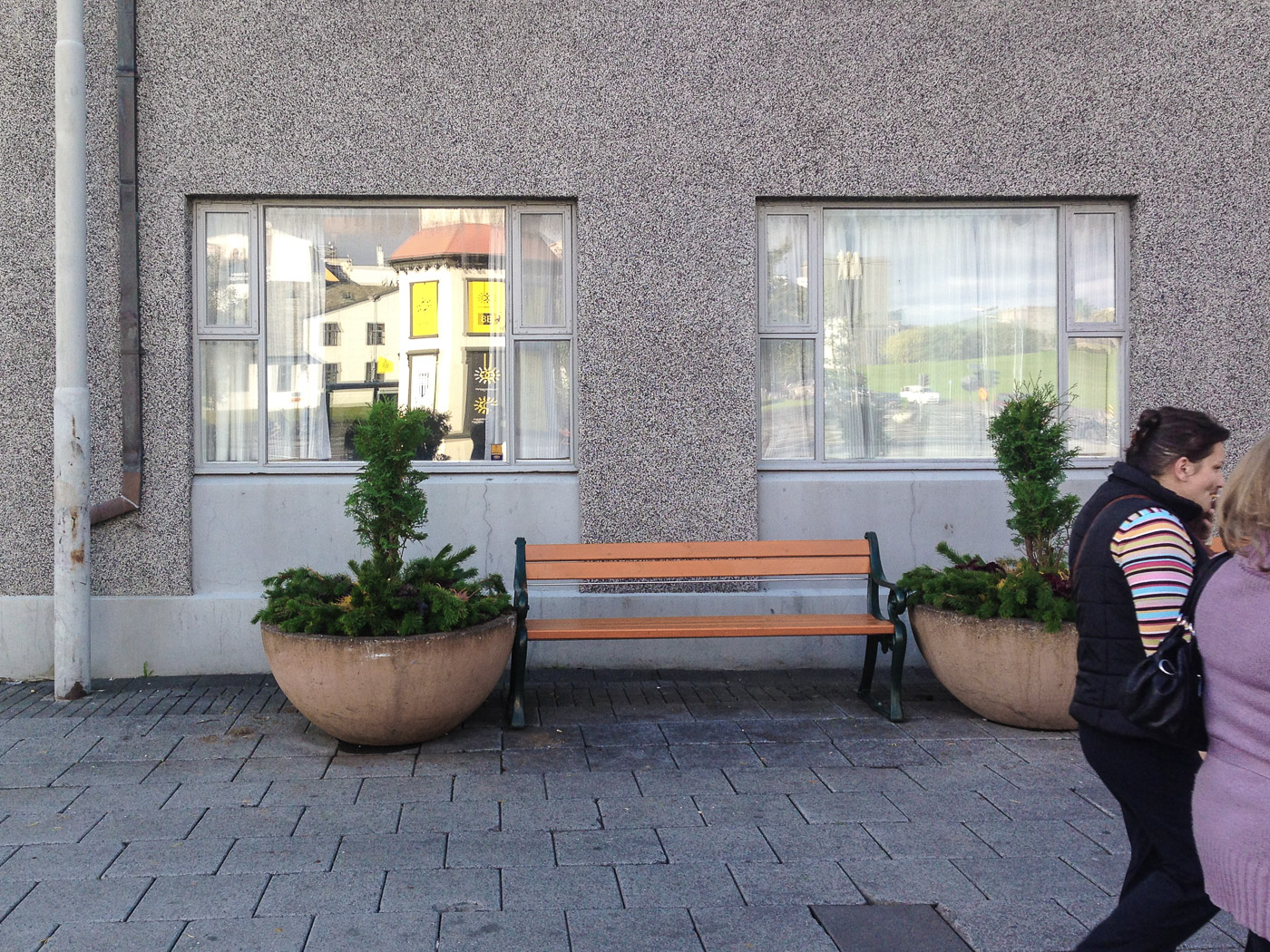 Reykjav&iacute;k. &quot;Meine Banken&quot; 4 September 2014. - &quot;Meine Banken&quot; looked like this today! Or like <a href='/14-08/b7116e.php' target='_blank' class='linksnormal'>this</a> on 22 August 2014! (4 September 2014)