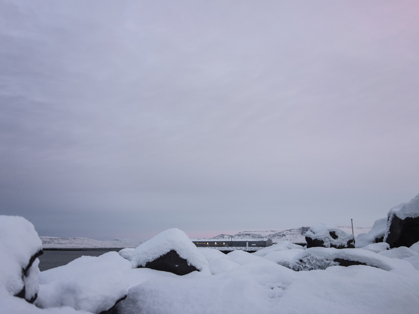 Reykjavík. A month in snow and ice. - I. (3 till 30 December 2014)