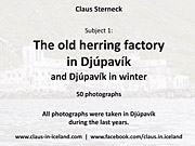 Subject 1 - The old herring factory in Djúpavík - 50 pictures