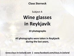 Subject 4 - Wine glasses in Reykjavík - 33 pictures